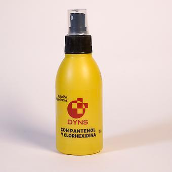 Dyns Soluzione igienizzante con pantenolo e clorexidina 125 ml