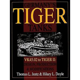 Germany's Tiger Tanks - VK 45.02 to Tiger II - Design - Production and