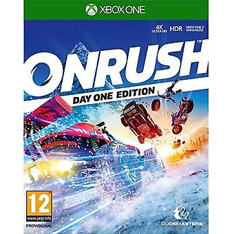 Onrush Xbox 1 spil