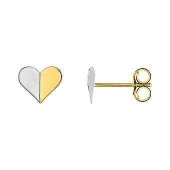 Ohrringe Clous Coeur Gold 375/1000 (9K)