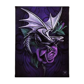 Anne Stokes Dragon Beauty Canvas Plaque