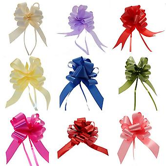 Apac 50mm Block Colour Decorative Pull Bow Ribbon