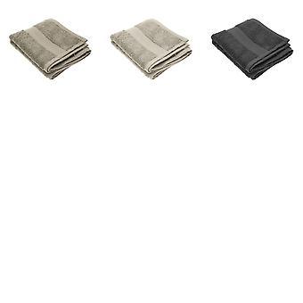 Jassz Premium Heavyweight Plain Guest Hand Towel 40cm x 60cm (550 GSM) (Pack of 2)