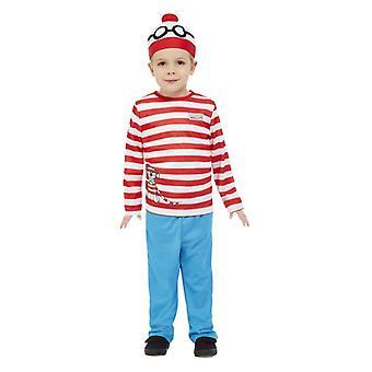Tout-petits Où-apos;s Costume de déguisement de fantaisie Wally