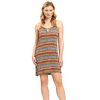 Féraud 3205103-16575 Women's Multicoloured Ethno Bead Beach Dress