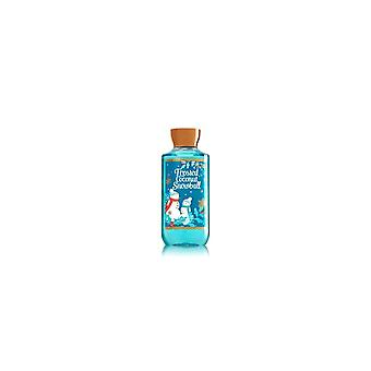 (2 Pack) Bath and Body Works Frosted Coconut Snowball Shower Gel Body Wash 10 Ounce Full Size
