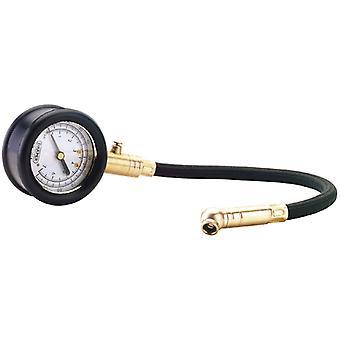 Medidor de presión de neumáticos Draper con Flex. Manguera