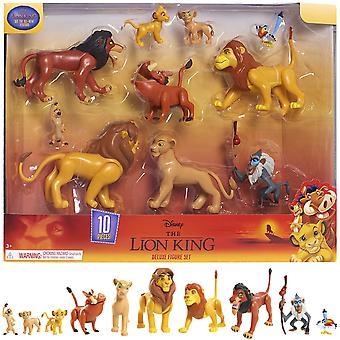 The Lion King Deluxe Figure Set Lion King 10pcs characters
