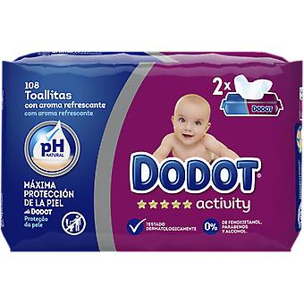 Dodot Wet Baby Wipes Dúopack 108 Units (Baby & Toddler , Diapering , Baby Wipes)