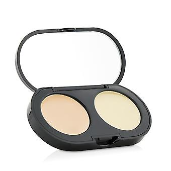 New creamy concealer kit warm ivory creamy concealer + pale yellow sheer finish pressed powder 157775 3.1g/0.11oz