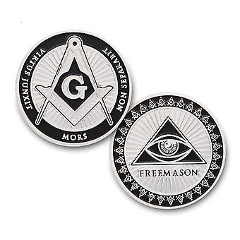 Vrijmetselaar herdenkingsmunt token collectible