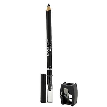 كريستيان ديور Diorshow محدد العيون مع المبرأة ماء 099 0.04 أوقية أسود/1.4 غرام