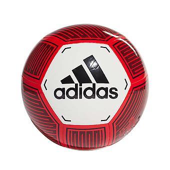 adidas Starlancer VI Bola de Futebol Branco/Vermelho/Preto