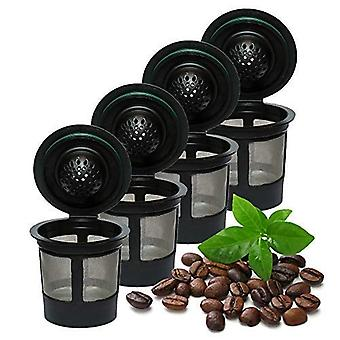 4x Reusable Cups Compatible With Keurig 2.0 & 1.0 Universal Fit For Refillable Single Cup Coffee Filters Eco-friendly