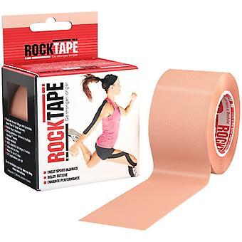 Rocktape Allergivenlige Adhesive Sports Kinesiology Tape Standard Rolls-Beige