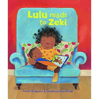 Lulu Reads to Zeki by Anna McQuinn - 9781907825057 Book