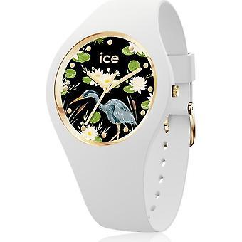 ساعة الثلج - ساعة اليد - للجنسين - زهرة ICE - Waterlily - متوسط - 3H - 016666