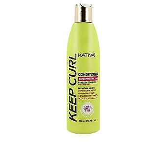 Kativa Keep Curl Conditioner 250 Ml For Women