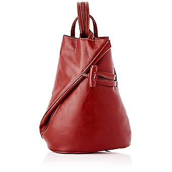 All-Fashion Chicca Cbc181027gf22 - Unisex Backpack Adult - Red - 12x31x15 cm (W x H x L)