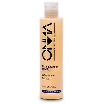 Onna Therapy Ginger Foot Bubble Bath 200 ml