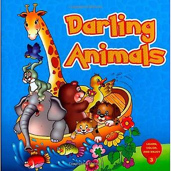 DARLING ANIMALS (Learn, Color and Enjoy)