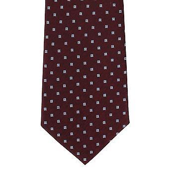 Michelsons London Classic Diamond Jedwabny krawat - wina