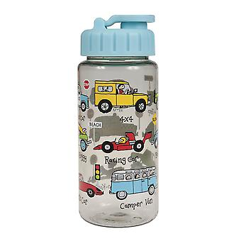 Tyrrell Katz Cars Drinking Bottle With Straw