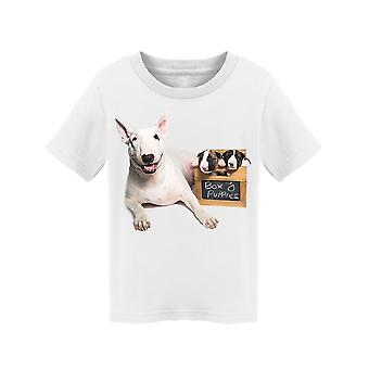 Box Of Bull Terriers Tee Toddler's -Image by Shutterstock
