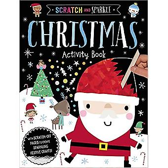 Scratch and Sparkle Christmas Activity Book by Dawn Machell - 9781789