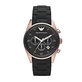 Emporio Armani AR5905 Men's Chronograph Watch - Black