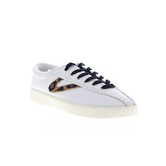 Tretorn Nylite 25 Plus Womens White Low Top Lace Up Lifestyle Sneakers Shoes