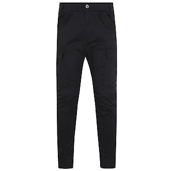 Alpha Industries Airman Black Cargo Trousers