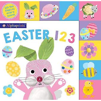 Alphaprints Easter 123 by Roger Priddy - 9781783419548 Book