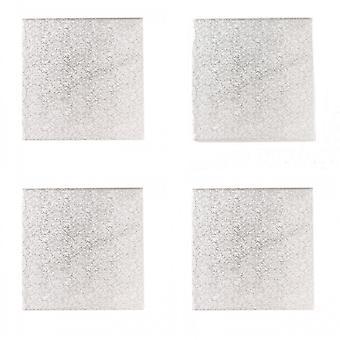 Tambores quadrados do bolo de Culpitt (bloco de 5)