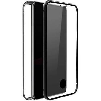 بلاك روك 360° زجاج غطاء سامسونج غالاكسي S20+ شفاف, أسود