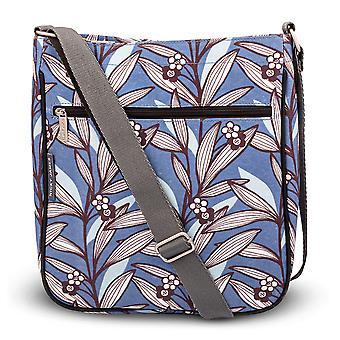 Nicky James Wildflower Blue Large Crossbody Bag
