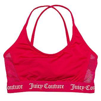 Girl's Juicy Couture Infant Juicy Swim Bikini Top en rose