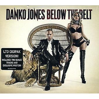Danko Jones - Below the Belt [CD] USA import