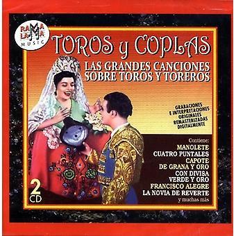 Toros Y Coplas (Las Grandes Canciones Sobre Toros [CD] USA import
