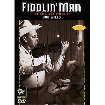 Bob Wills - Fiddlin' Man [DVD] USA import