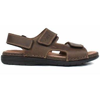 Rieker tabak bruine sandalen mens bruin 003