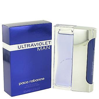 Ultraviolet Eau De Toilette Spray By Paco Rabanne 1.7 oz Eau De Toilette Spray