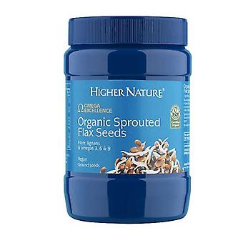 Higher Nature Organic Sprouted Flax Seeds 250g (OESF250)