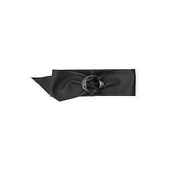 B-lav Bæltet Bw587000leblk Women's Black Leather Belt