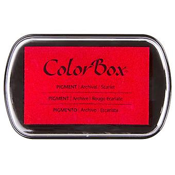 Clearsnap ColorBox Pigment Muste Täysikokoinen Scarlet