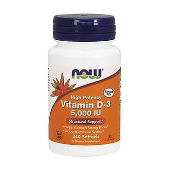 Vitamin D-3 5000 IU 240 capsules