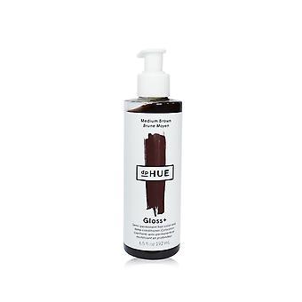Gloss+ semi permanente haarkleur en deep conditioner # medium bruin 246819 192ml/6.5oz