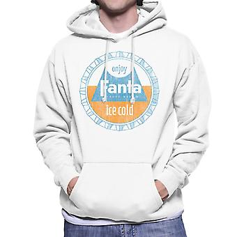 Fanta retro 1960s Bottlecap mannen Hooded Sweatshirt