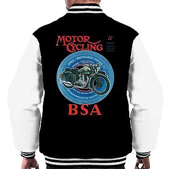 BSA Motor Cycling Empire Star Men's Varsity Jacket