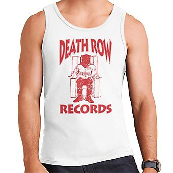 Death Row Records stoel Logo rood mannen Vest
